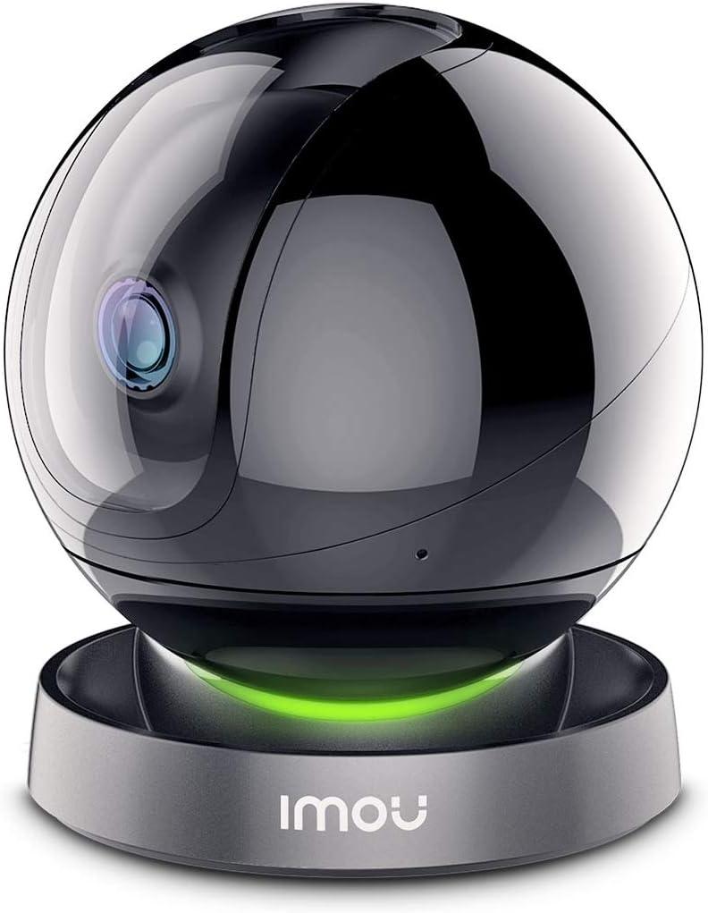 Imou Cámaras de Vigilancia WiFi Interior 1080P, Domo Cámara IP WiFi con Seguimiento Automático de Movimiento, Máscara de Privacidad, Audio Bidireccional y Visión Nocturna