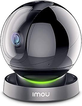 Opinión sobre Imou Cámara de Vigilancia WiFi Interior 1080P, Cámara IP WiFi 1080P, Cámara Domo PTZ, Sirena de Seguridad, Detección de Sonidos Extraños, Modo de Privacidad, Audio Bidireccional y Visión Nocturna
