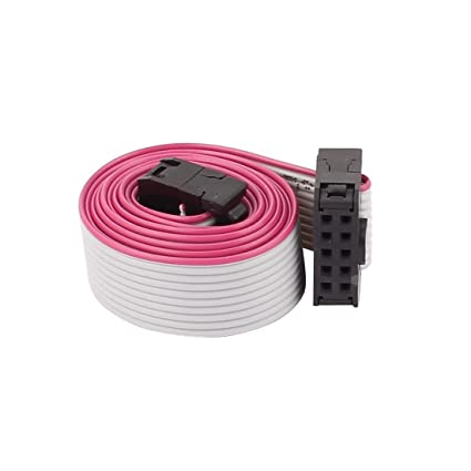 Amazon.in: Buy Generic IDC Connector Flat Ribbon Cable, F/F, 10 Pins ...