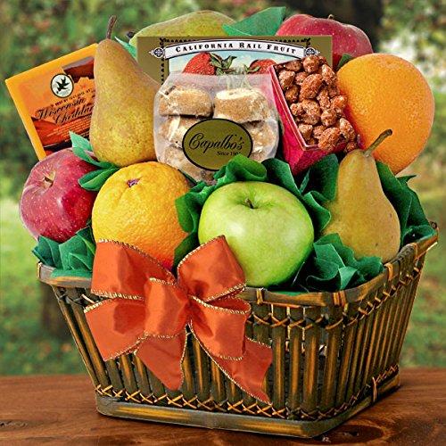 Harvest Bounty Fruit Gift Basket (Fruit Gift Basket Delivery)