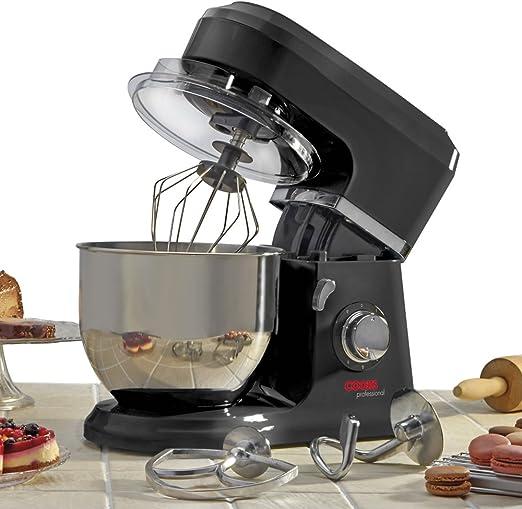 Cooks Professional Batidora eléctrica de acero inoxidable 800 ...