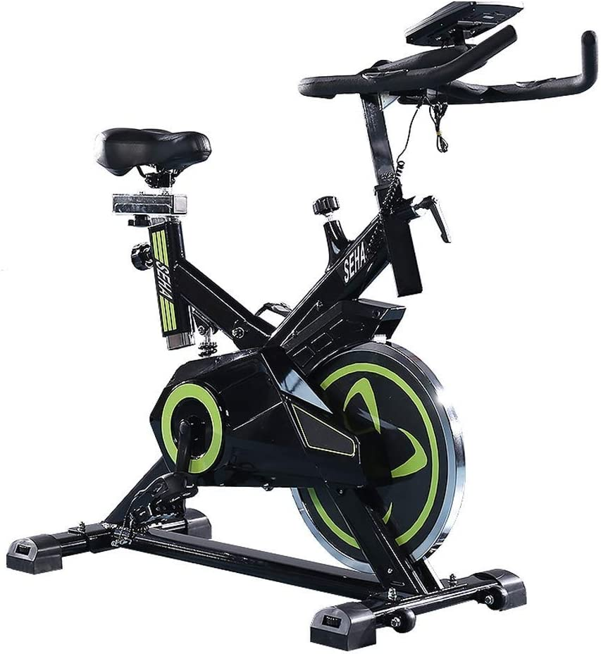 TSDS Sports Bike, Indoor Climbing Stepper Modern Treadmill Green/Black Fitness Bicycle Multi-Function Fitness Equipment Home Weight Loss Machine