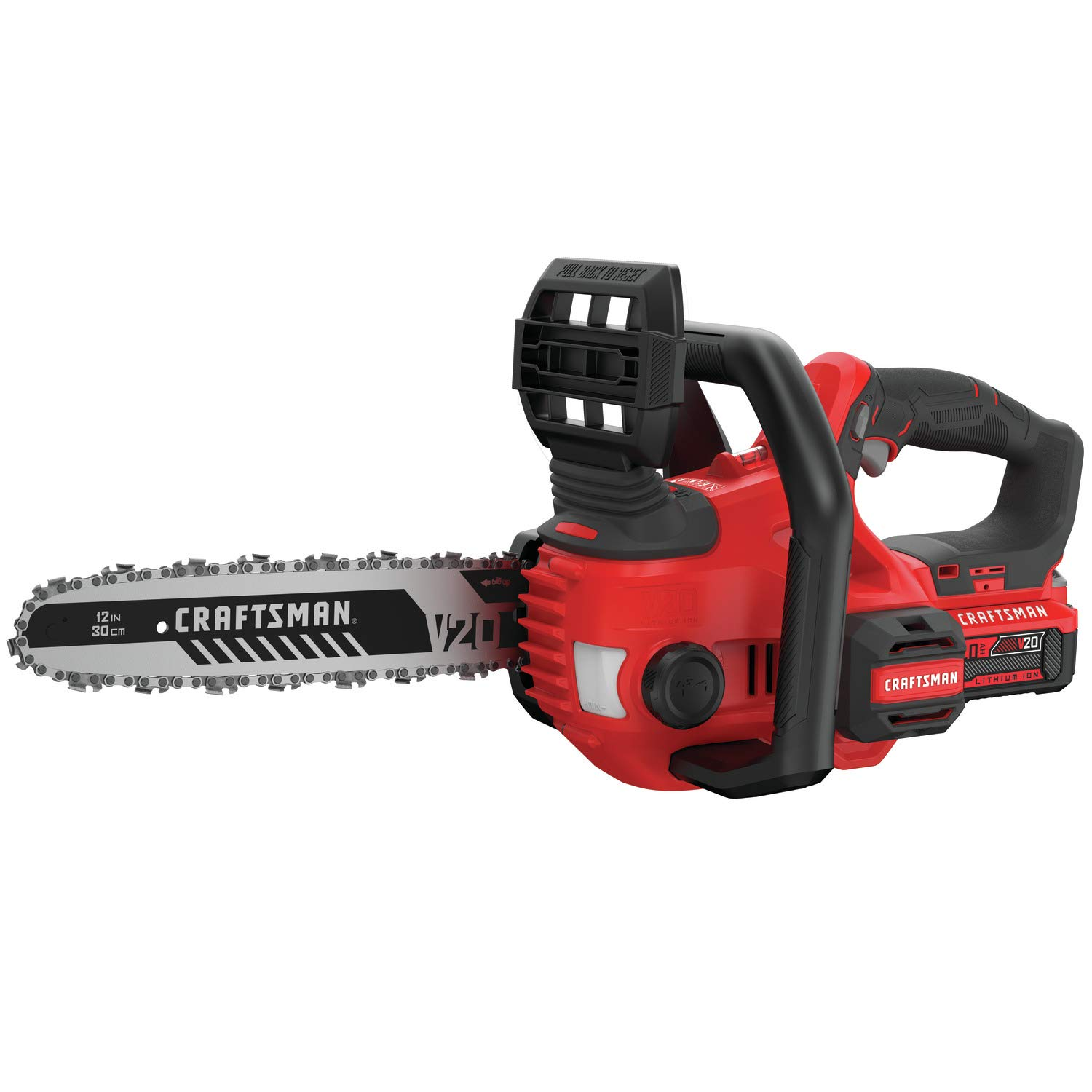 CRAFTSMAN V20 Cordless Chainsaw, 12-Inch CMCCS620M1