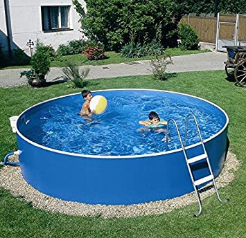 Zizy Pools Amazing Above Ground Steel Free-Standing Swimming Pool ...