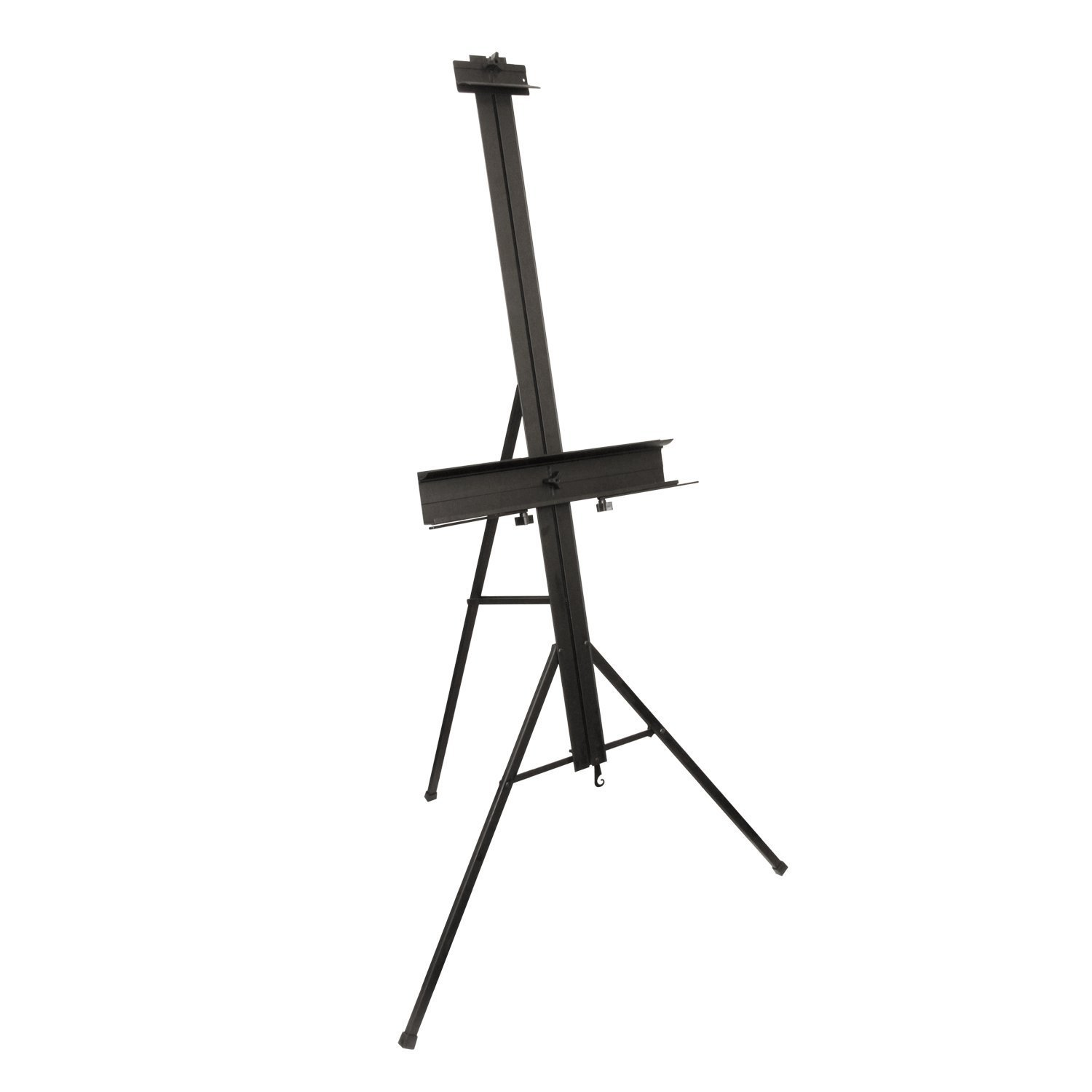 Del Mar Aluminum Light Weight Studio Easel with Adjustable Tray & Palette Holder US Art Supply E-308