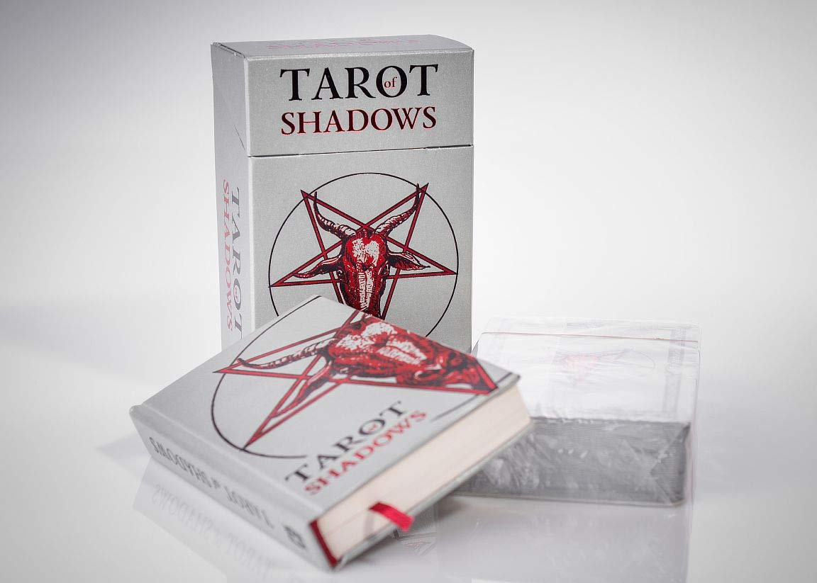 SLVR TRT Tarot Shadows Sklyarova Silver Trim + Book Gift Set with Box Easter Gift by SLVR TRT (Image #1)