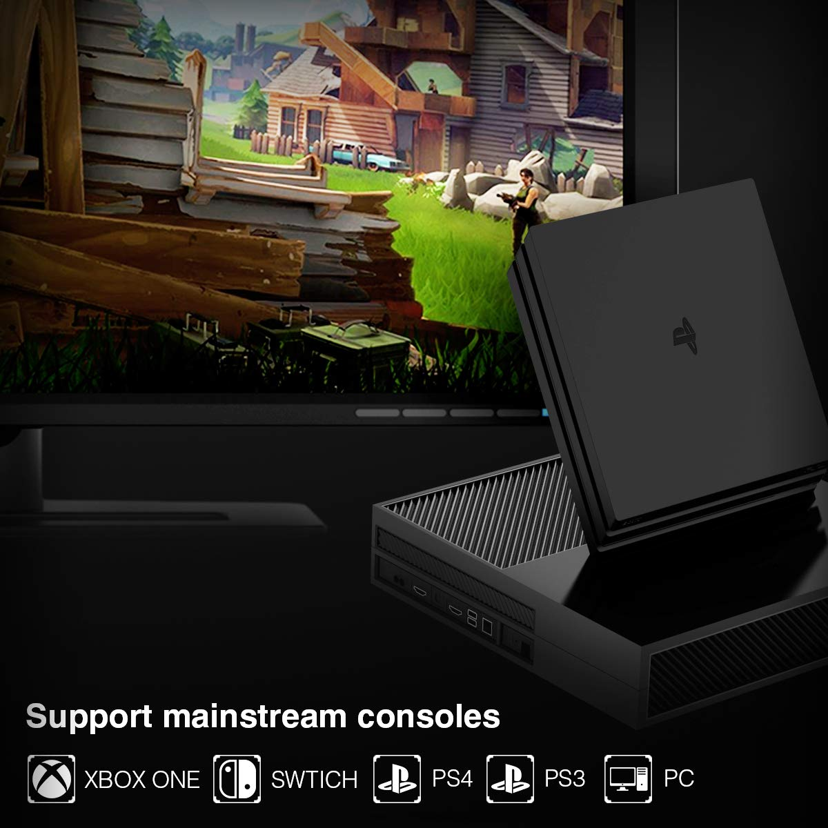 27c1c933794 One Combo for All Consoles: GameSir VX AimSwitch supports mainstream  consoles: Xbox One, PlayStation 4, PlayStation 3, Switch and PC.