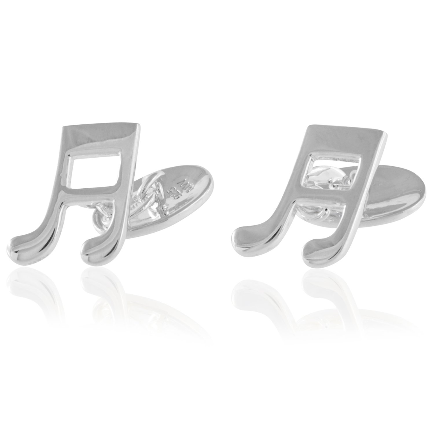 Music Note Cufflinks Vintage glass cufflinks Let the Music Flow Collection