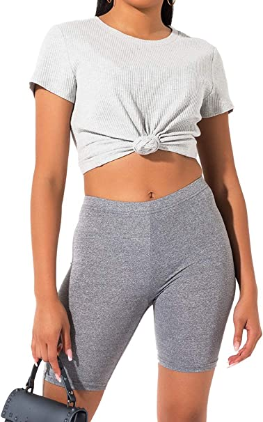 Amazon.com: Akira - Pantalones cortos de motorista para ...