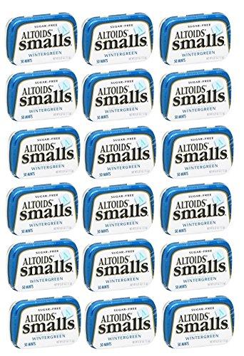 Altoids Small S Mints - Altoids Smalls Mint Sugar Free Wintergreen Tin 18ct - Tj