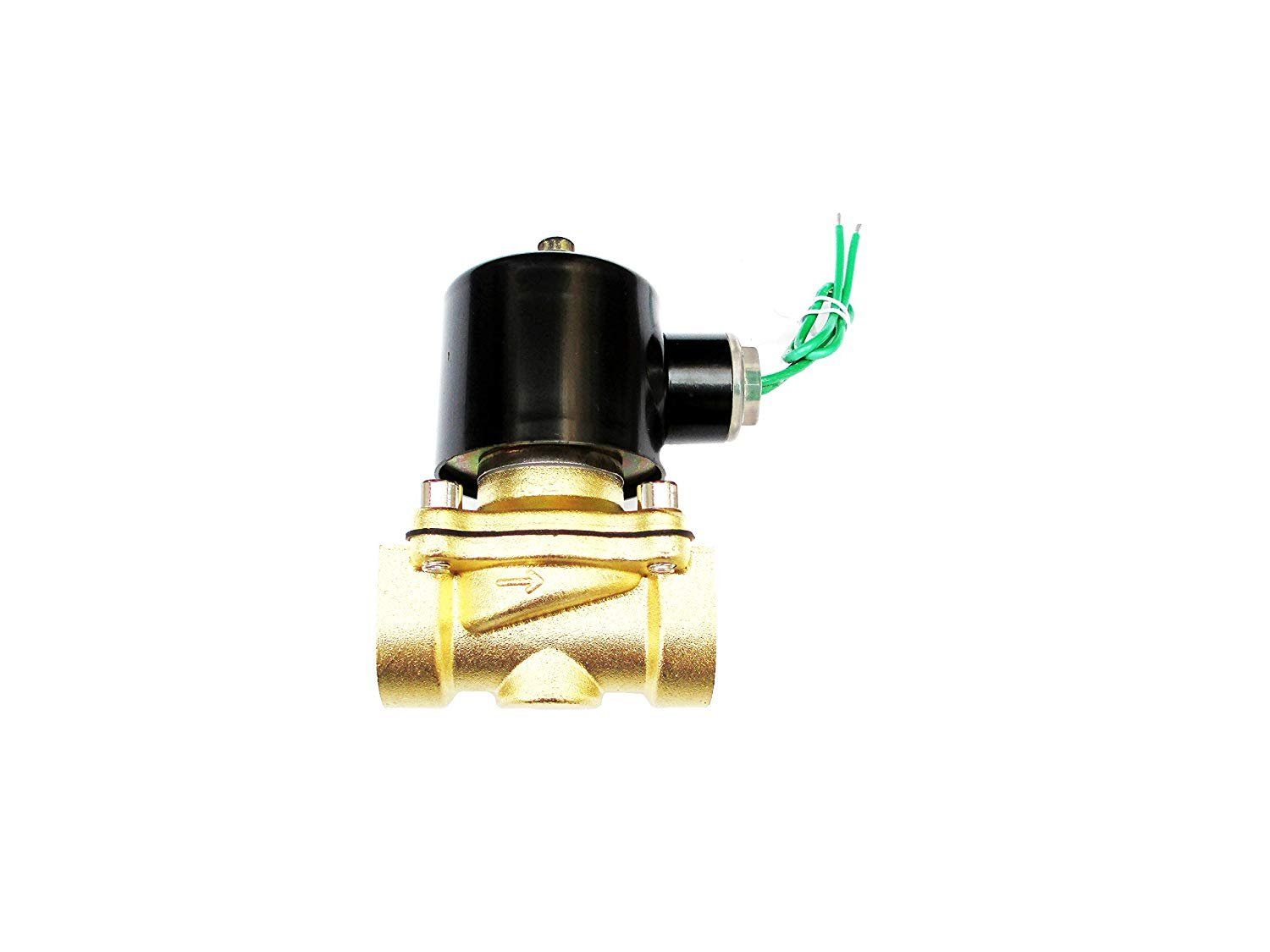 3/4 Inch 24 VAC Normally Closed Brass Solenoid Valve by Carb Omar