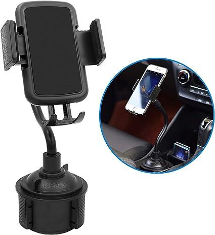 Amazon.com: Soporte de coche para teléfono móvil ajustable ...