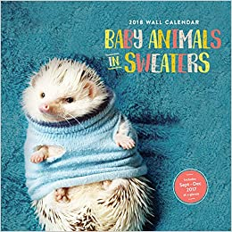 Amazon.fr , Baby Animals in Sweaters 2018 Calendar , Chronicle Books ,  Livres