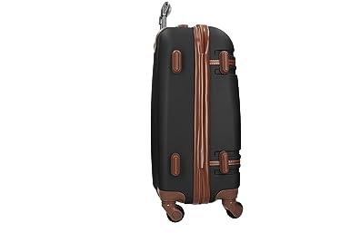 Maleta rígida PIERRE CARDIN negro mini equipaje de mano ryanair 4 ruedas VS161: Amazon.es: Ropa y accesorios
