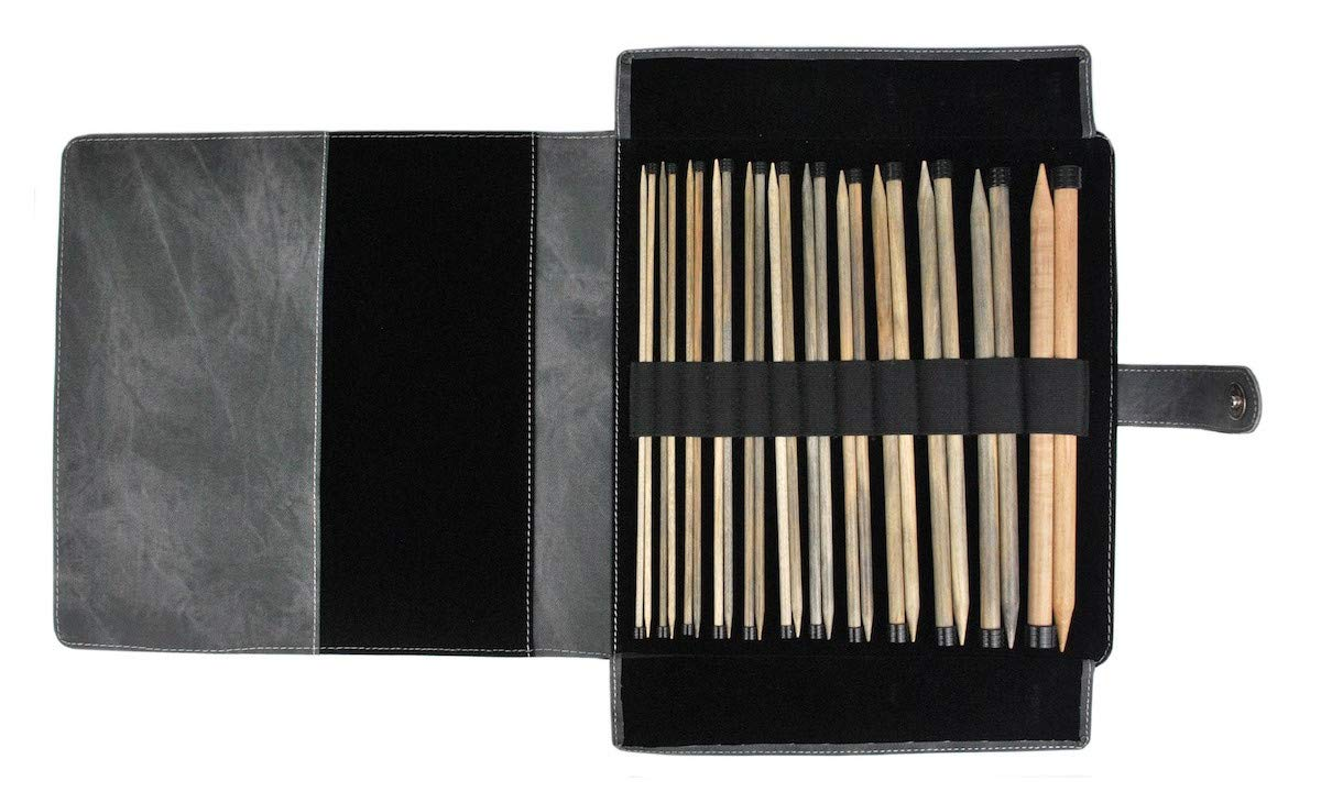 Lykke Driftwood 14'' Straight Gift Set in Grey Denim Pouch … by Lykke (Image #1)