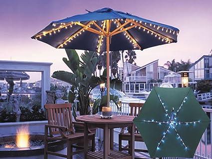 Bahama magic illuminazione rgb per ombrelloni ombrelloni per