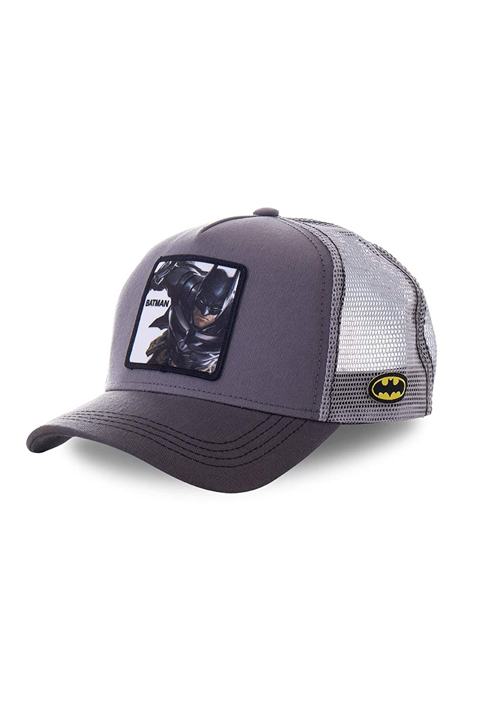 Capslab - Gorra Batman - BTM1 - Gris, U, One Size: Amazon.es: Ropa ...