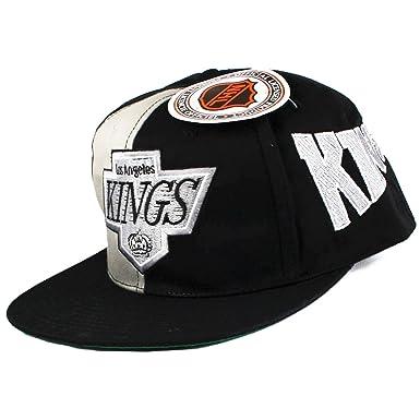 Vintage Los Angeles LA Kings Snapback Hat Cap  Amazon.co.uk  Clothing 30c394f454e