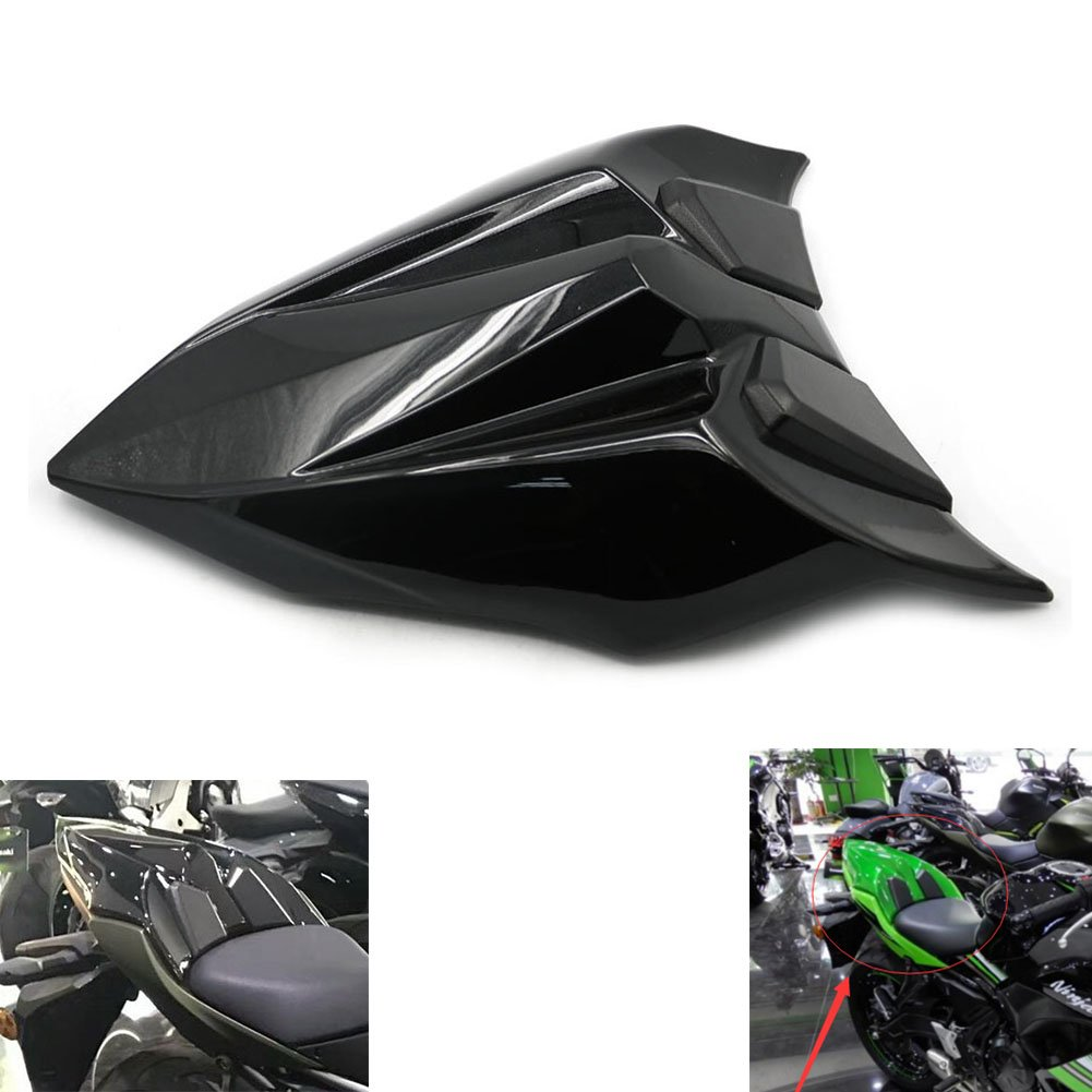 Alpha Rider Rear Seat Tail Cover Guard Cowl Fairing For Kawasaki Ninja 650 Z650 2017 ABS Motorcycle parts Matte Black Motofans