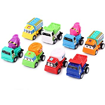 Amazon.com: TKI-S 8 piezas / lote de juguetes de arrastre de ...