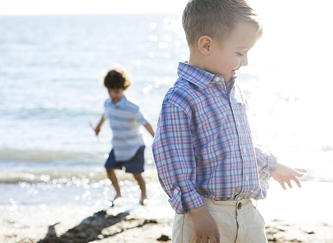 Amazon.com: Hope & Henry - Pantalón de lino para niño: Clothing