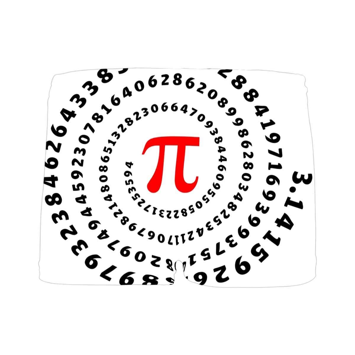 5T-2XL INTERESTPRINT Boys Funny Pi Spiral Circumference Mathematics ComfortSoft Printed Boxer Briefs