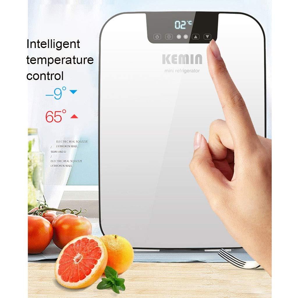 Haierbingxiang Refrigerador pequeño Refrigerador Coche Mini ...