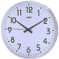 Unity Fradley - Reloj de pared silencioso, moderno