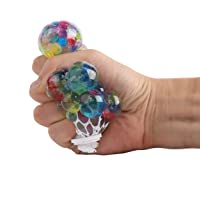 FEESHOW Stress Relief Squeeze Balls Soft Grape Therapy Sensory Fidget Toys Anxiety Relief Tool