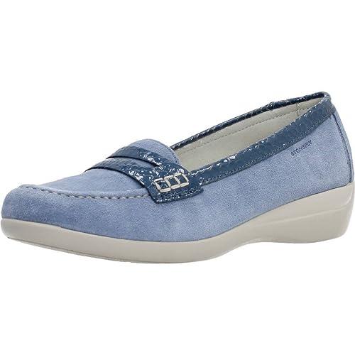 Mocasines para Mujer, Color Azul, Marca STONEFLY, Modelo Mocasines para Mujer STONEFLY 104050