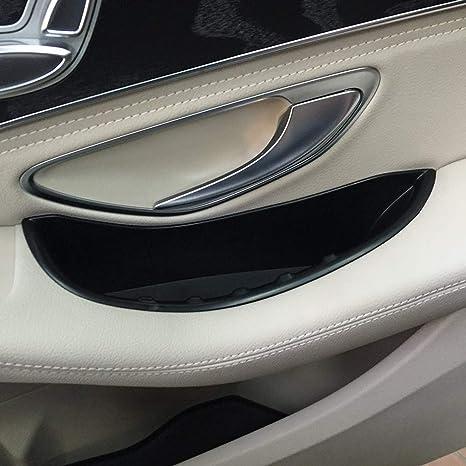 Caja de almacenamiento de la manija de la puerta delantera del coche de plástico Accesorios de