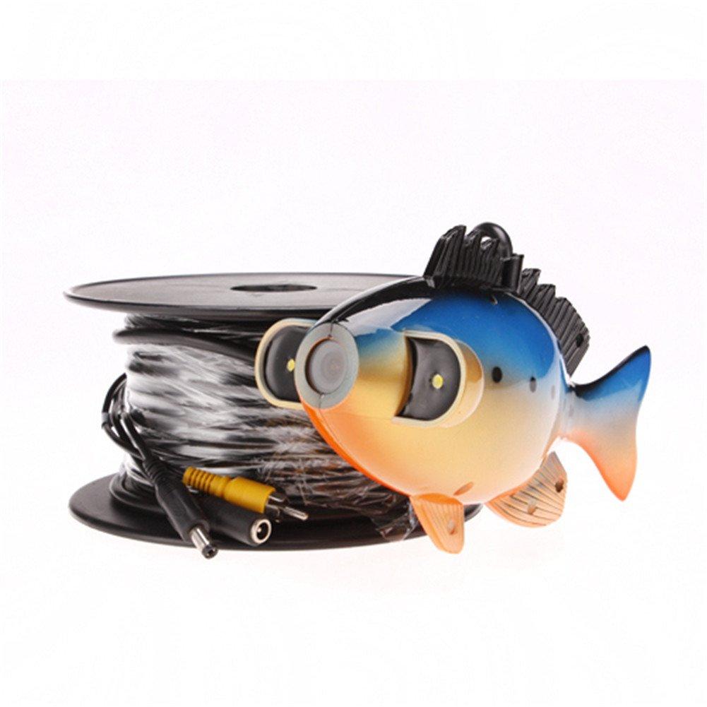 Ennio Sy8000 7'' Color TFT Underwater Fish Finder Video Camera Luxury Set w/ 20m Cable / Case - Black by Ennio (Image #3)