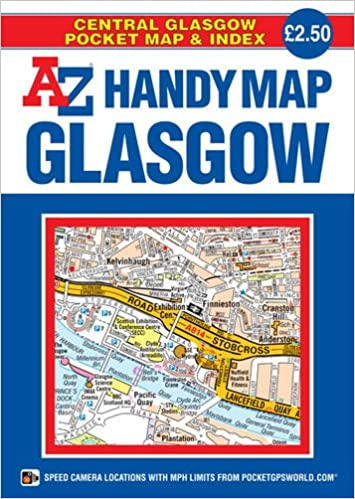 Handy Map of Glasgow 2014: Geographers A-Z Map Co Ltd ... on submarine map, meteorologist map, artist map, the national map, explorer map, ptolemy map,