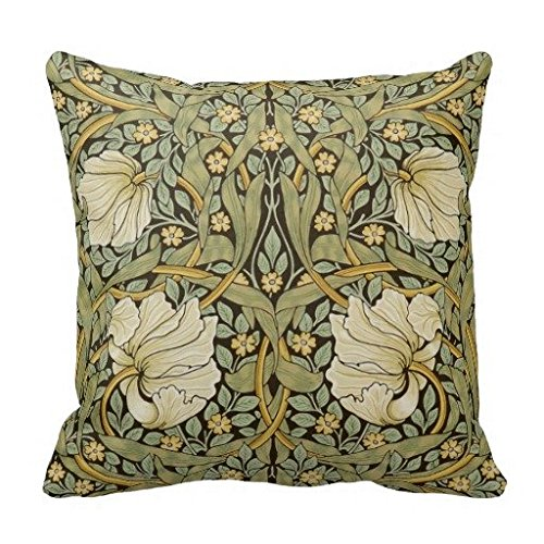 William Morris Pimpernel Vintage Pre Raphaelite Pillow Case