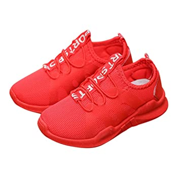 1cb8bd46b1694 Chaussures Bébé BinggongKid Bébé Garçons Filles Chaussures de Sport en Mesh  Respirant Casual Mode Engrener Chaussures