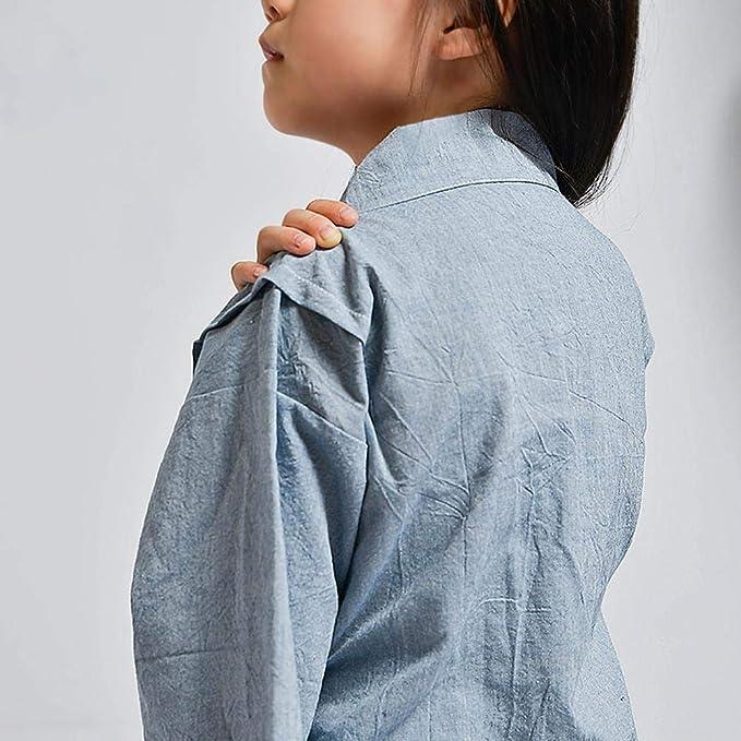 Per Pijamas Niños para Otoño y Primavera Pijamas de Estilo Japonesa Ropa de Casa Conjunto de Pijamas de Algodón Lino: Amazon.es: Hogar