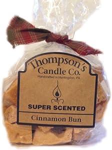 Thompson's Candle Co. Super Scented Crumbles/Tarts/Wax Melts 6 oz-Cinnamon Bun