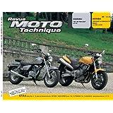 Revue moto technique, n° 114 : Susuki GZ 125 Marauder, 98/99 / Honda CB 600 Hornet, 98/99