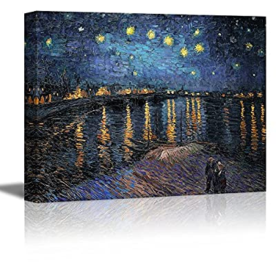 Starry Night Over The Rhone Vincent Van Gogh Oil Painting Reproduction