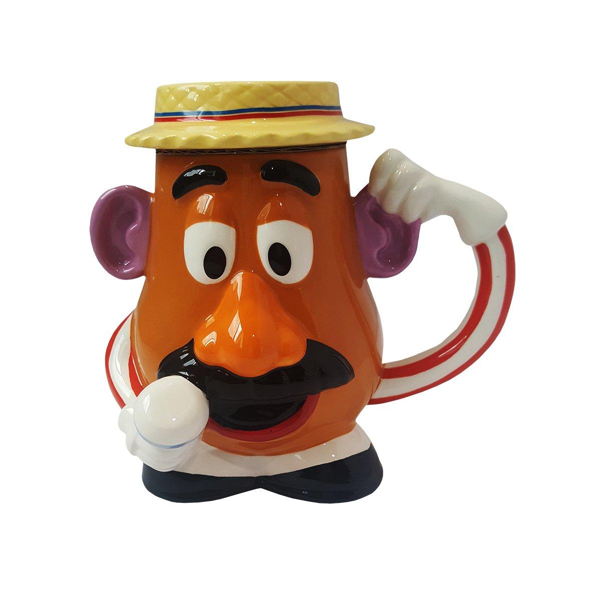 Mr Potato Head Mug with Lid