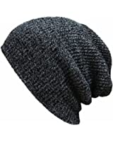 OUTERDO Knit Men's Women's Baggy Beanie Oversize Winter Hat Ski Slouchy Chic Cap Skull