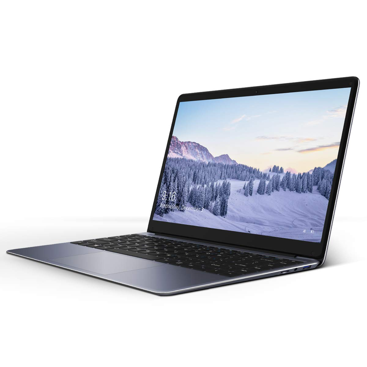 CHUWI Herobook 14.1 inch Laptop, Windows 10 Ultrabook Notebook Intel Atom X5-E8000, Quad Core 4G RAM 64GB eMMC, 1920*1080 FHD Screen, M.2 Slot and WIFI supports up to 128GB TF Card Expansion