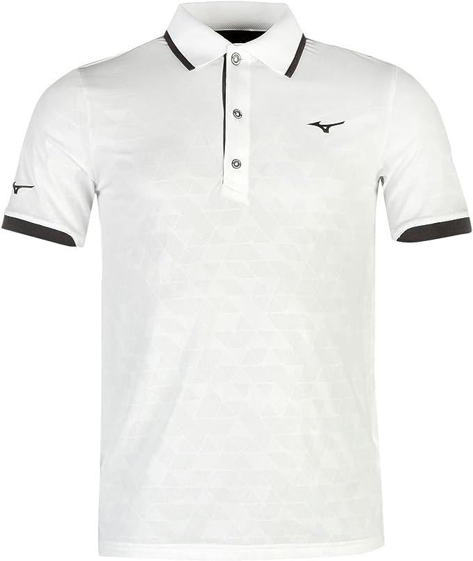 Mizuno Hombre Jq Golf Polo Camisa Camiseta Deporte Entrenar Casual ...