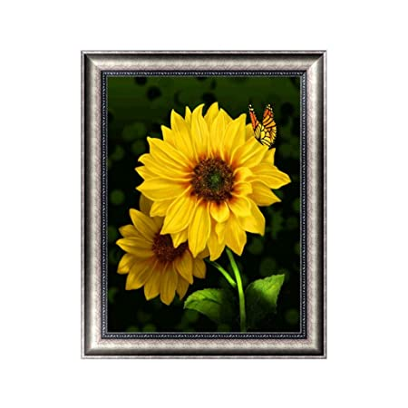 UK Sunflower Full Drill 5D Diamond Painting DIY Embroidery Cross Stitch Decor ST