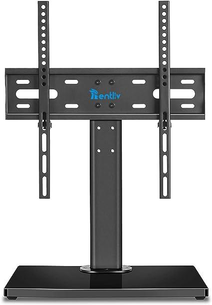 RENTLIV Soporte Genérico de TV Tipo Sobremesa es Adecuado para TV de 32 a 55 Pulgadas con Base de Madera Resistente-Es campatible con hasta VESA 400 x 400 mm y 45 KG.: Amazon.es: Electrónica