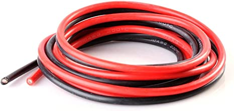 14 Gauge Silicone Wire 300 cm 14 AWG Silicone Wire 10 ft Flexible Silicone Wire