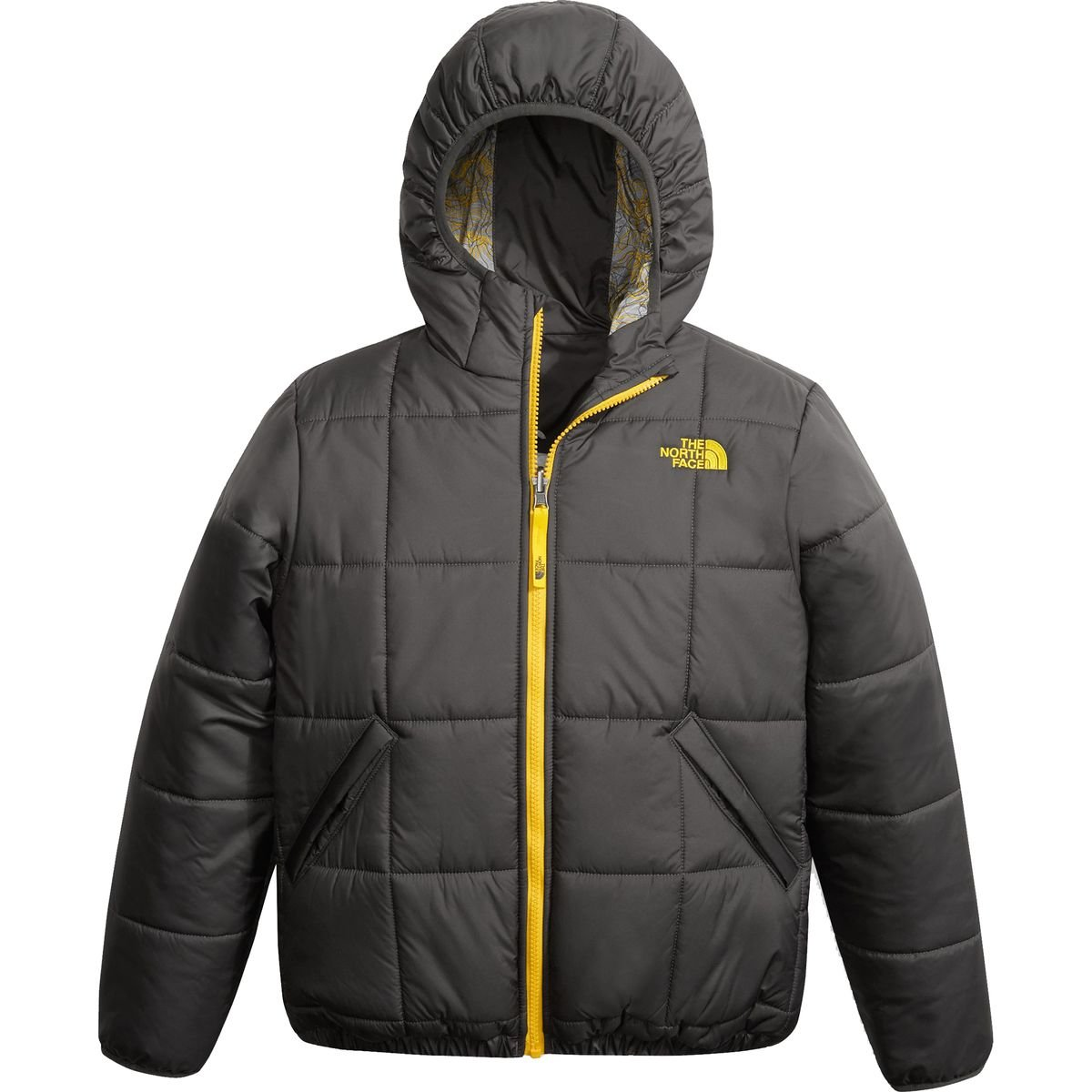 The North Face Boys Reversible Perrito Jacket - Graphite Grey - S