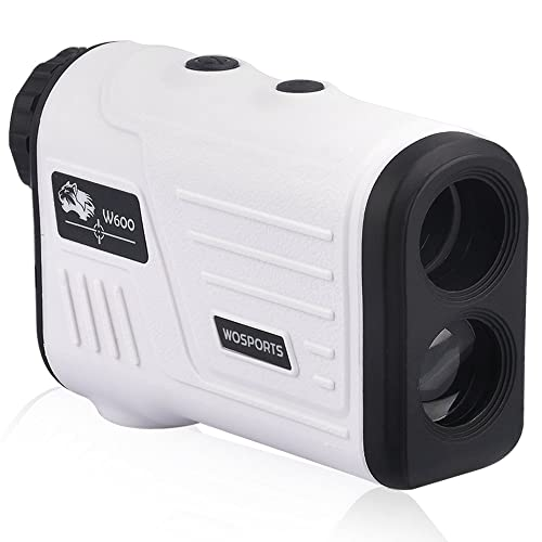 Wosports Golf Rangefinder, Laser Range Finder with Slope, Golf Trajectory mode, Flag-Lock and Distance/Speed/Angle Measurement