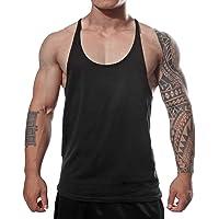 59992d903c035 Manstore Men s Gym Stringer Tank Top Bodybuilding Athletic Workout Muscle  Fitness Vest