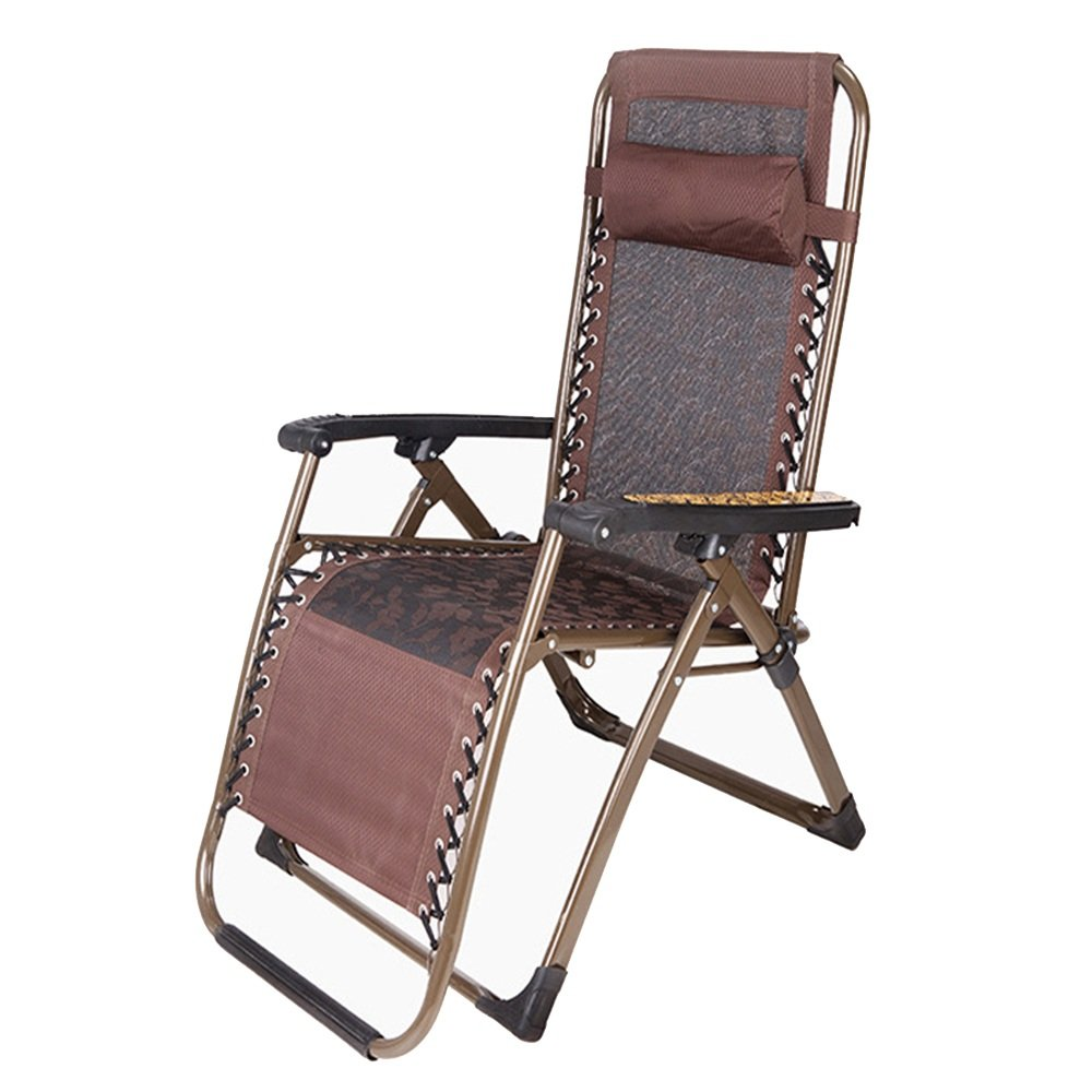 QFFL リクライニング家ホーム折りたたみ椅子の座席アダルトランチブレイクチェア多機能屋外ラウンジチェア アウトドアスツール (色 : E) B07FW2F23B  E